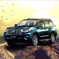 Toyota Land Cruiser Prado Colour Options