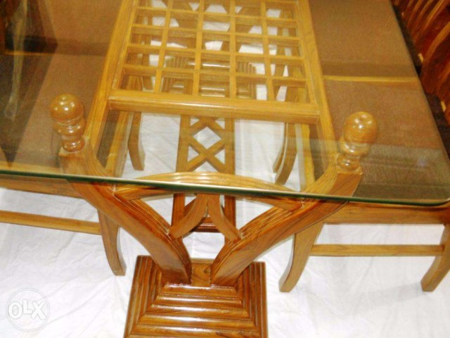 Segun Wooden Dinning 6 Chair Themeqx Classified